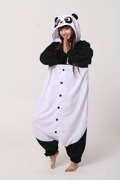 Пижама Панда  b79ffd9f9ffe1